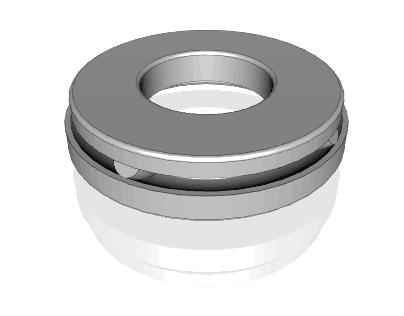 Thrust Spherical Roller Bearings-Symmetrical Roller Type